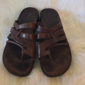 Ladies Brown Sandals